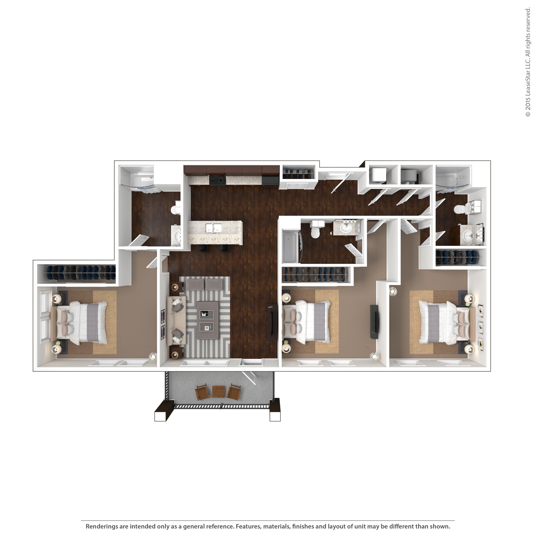Tetro Student Village Apartments